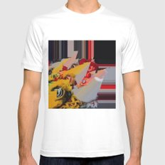 But I'm a Real Dragon! SMALL White Mens Fitted Tee