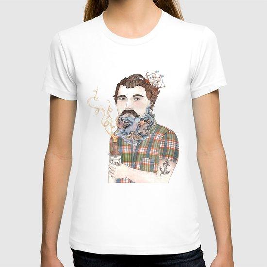 Flock of Beards T-shirt