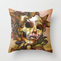 Queen Of Enlightenment  Throw Pillow