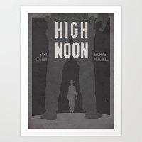 High Noon Western Movie Print Art Print