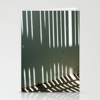 Striped Wall Stationery Cards