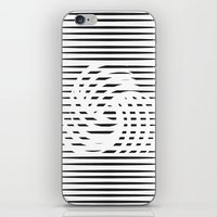wirbelnde sonne iPhone & iPod Skin