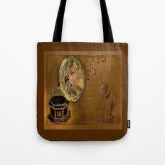 VINTAGE-His Master's voice Tote Bag