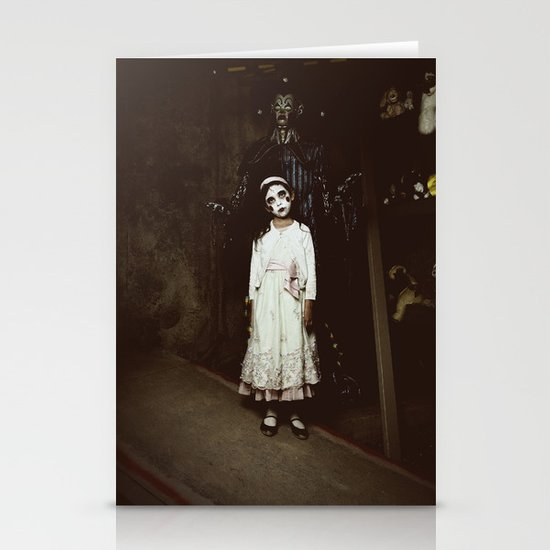 Ghost Girl Stationery Card
