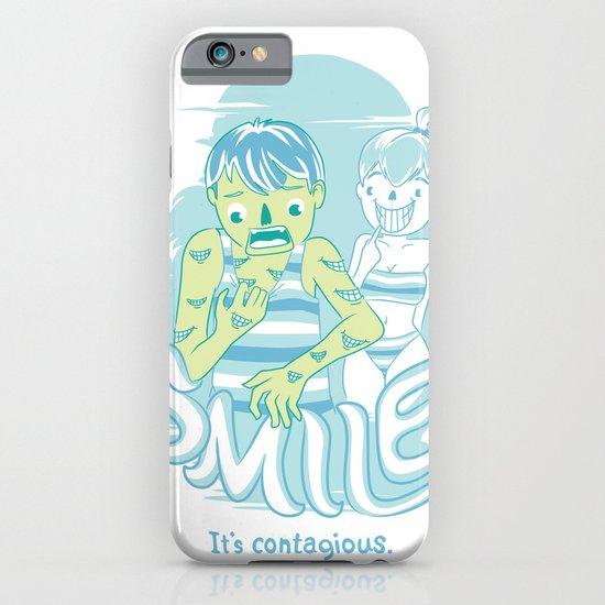 Smile It's contagious :D iPhone & iPod Case