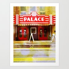 The Palace Theater Art Print