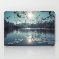 India - Blue lake iPad Case