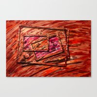 Die Kunsttiefe 08 Canvas Print