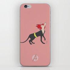 BlackCat Widow iPhone & iPod Skin