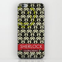 Sherlock Poster 1 iPhone & iPod Skin