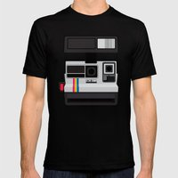 Polaroid Supercolor 635CL Mens Fitted Tee Black SMALL