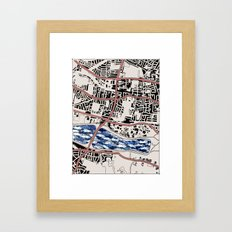 Lacking in Depth Framed Art Print