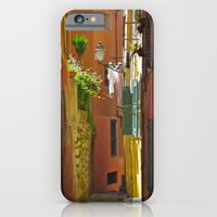 iPhone Cases featuring Nice Street by Rhianna Power