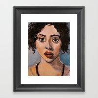 Absinthe Minded Framed Art Print