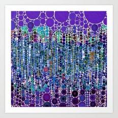 :: Purple Rain :: Art Print