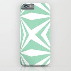 Mint Starburst #2 Slim Case iPhone 6s