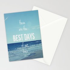 These Are the Best Days of Our Lives Stationery Cards