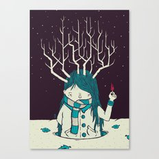 Warm Canvas Print