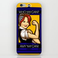 Amy Can! iPhone & iPod Skin