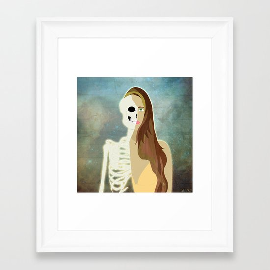Born To Die Framed Art Print