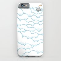 iPhone & iPod Case featuring Peak above the clouds by Joe Van Wetering