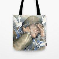 Dreams of freedom II, watercolor Tote Bag
