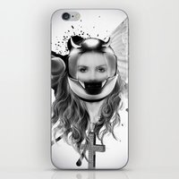 Harley Girl iPhone & iPod Skin