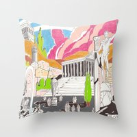 Milano da bere  Throw Pillow