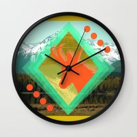 Chamois D'or Wall Clock