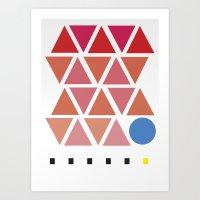 pattern no. 1 Art Print