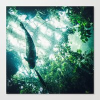 Glass Sea V. Synthetic R… Canvas Print
