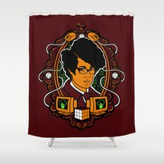 Street Countdown Shower Curtain