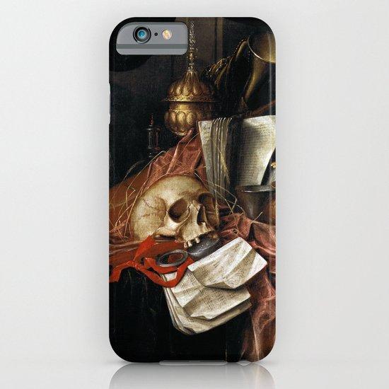 Vintage Vanitas - Still Life with skull 2 iPhone & iPod Case