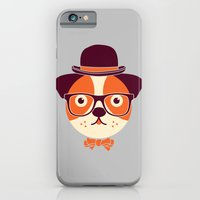 Hipster Dog iPhone 6 Slim Case