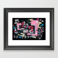 MahWaH Framed Art Print