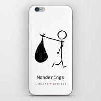WANDERINGS by ISHISHA PROJECT iPhone & iPod Skin