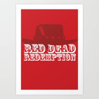 Red Dead Redemption Art Print
