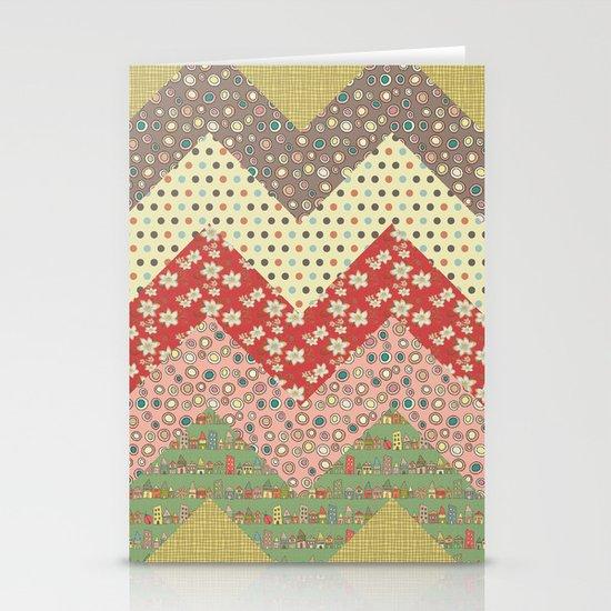 Zigzag Stationery Card