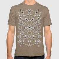 Ab Star Mens Fitted Tee Tri-Coffee SMALL