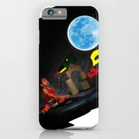 Watching the Moon iPhone 6 Slim Case