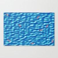 Fish In A Maze Canvas Print