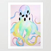 Psycho-dellic Art Print