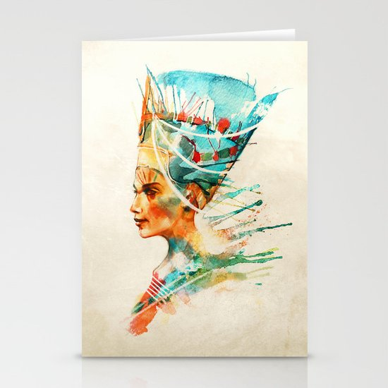 Nefertiti Stationery Card