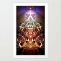 Powerslave 2020 Art Print