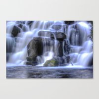 Water cave Canvas Print