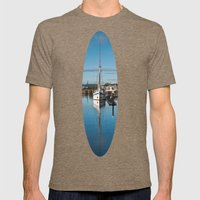 Reflections Mens Fitted Tee Tri-Coffee SMALL