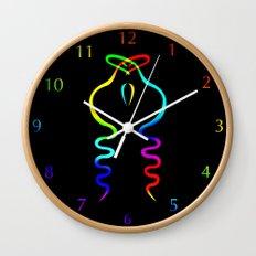 Two Gay Dancing Cobras  Wall Clock