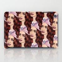 Tessellated Lady G iPad Case