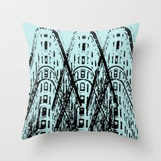 Triple Iron Throw Pillow