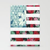 US Flowers Stationery Cards